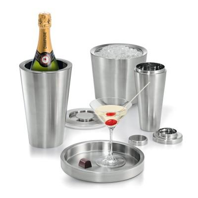 Philippi - SKYSCRAPER Barkeeper Lounge Cocktail Drink Geschenk 4-tlg. Set