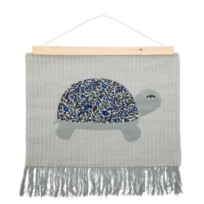 Bloomingville | Marry Wandteppich Schildkröte Wanddekoration - Mini