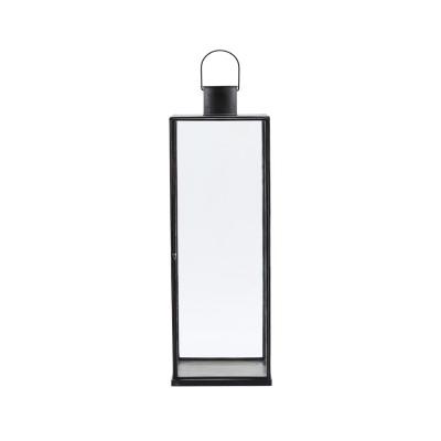 Grosse Laterne aus Glas mit Aufhängung