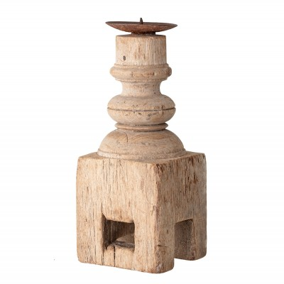 Kerzenhalter | Nature | Kerzenständer Candle Holder Dekoration – recyceltes Holz