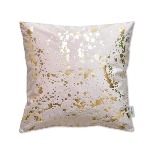 Dekokissen Kissen Golden Splashes