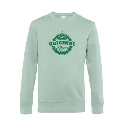 Herren Sweater Mingara - aqua green