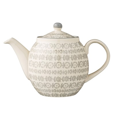 Bloomingville | Teekanne Karine Teapot Kanne Retrostil – grau