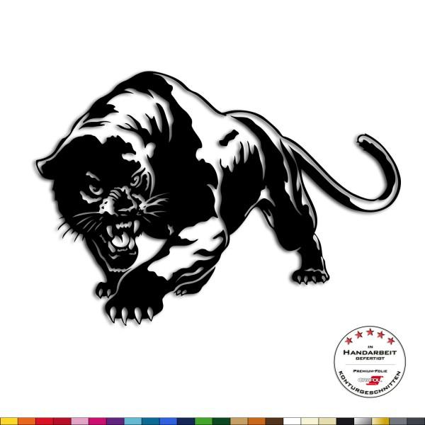 Wandtattoo - Panther - Raubkatze Wandsticker