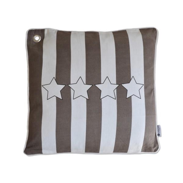 Kissen Stars & Stripes Neo greysch