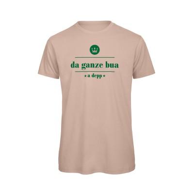 Herren T-Shirt Organic [da ganze bua a depp]