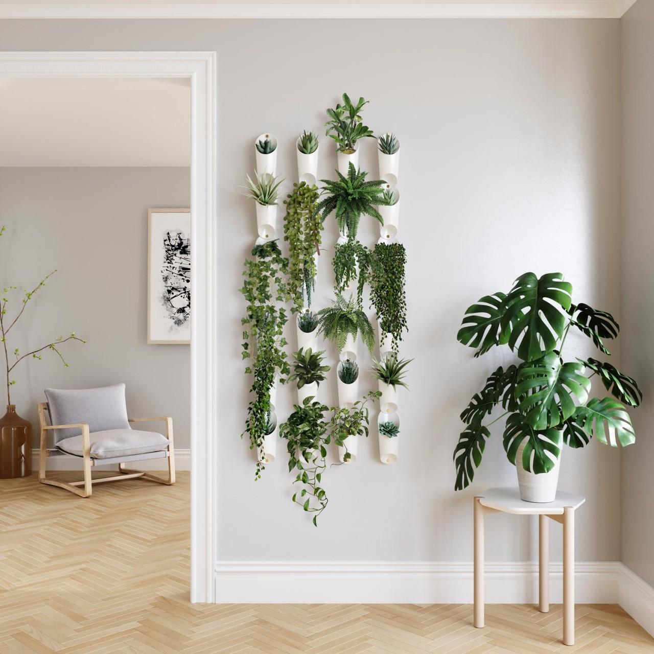 Wandvasen für kleine Pflanzen oder als Organizer