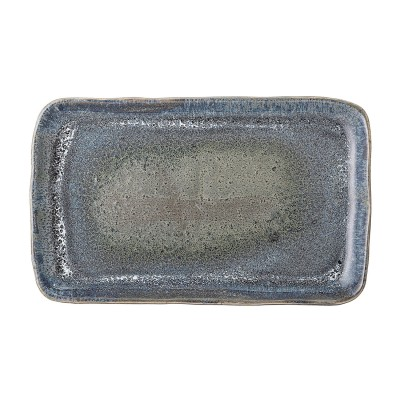 Bloomingville   Servierteller Aura Teller Serving Plate Servierplatte – blaugrau