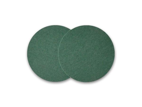 Untersetzer – 2 Stück – Wollfilz [KEIN Polyester] Glasuntersetzer Merinowolle Barzubehör – 12 Farben
