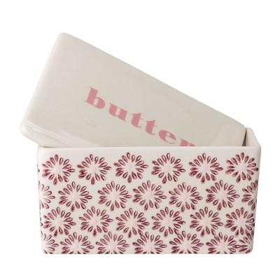 Bloomingville | Butterglocke Maya Butterschale Butterbox Dose Aufbewahrung für Butter & Käse
