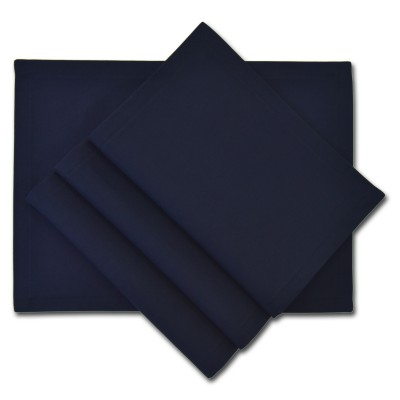 Platzset Tischset - Canvas nachtblau