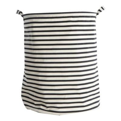 House Doctor - Stripes Wäschesack mit Tragegriff - Innenbeschichte Wäschebox