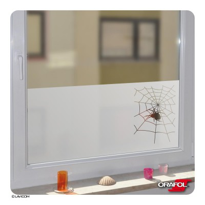 Glasdekor Folie Spinnen-Motiv Fensterfolie Sichtschutzfolie