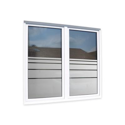 Sichtschutzfolie Glasdekor Fensterfolie Dynamische Streifen