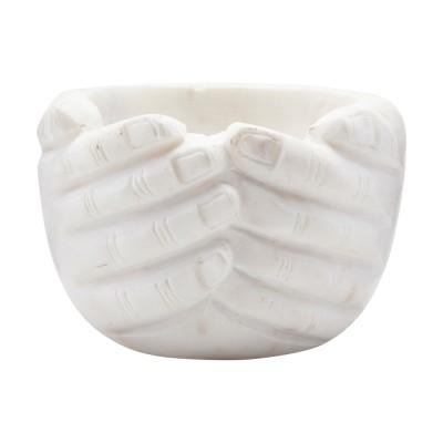 Schüssel Hände Dekoration – Marmor