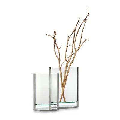 Vase | DECADE | Living Design Glas Blumenvase verschiedene Grössen