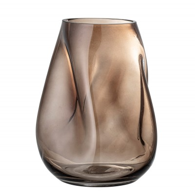 Bloomingville | Glasvase Curved Design Ingolf Dekorationsvase Blumenvase Deko Vasen Glas