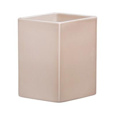 Ruutu Keramik-Vase in beige von Ronan & Erwan Bouroullec