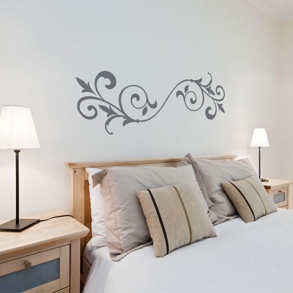 Wandtattoo + Ornament + Wohnzimmer Dekoration Wandsticker