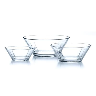 Rosendahl - Grand Cru Schüssel aus Glas - stilsichere & praktische Salatschüssel