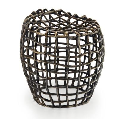 Philippi - LOUIS Hocker Sitzmöbel Sitzgelegenheit Gitter Designer Stuhl