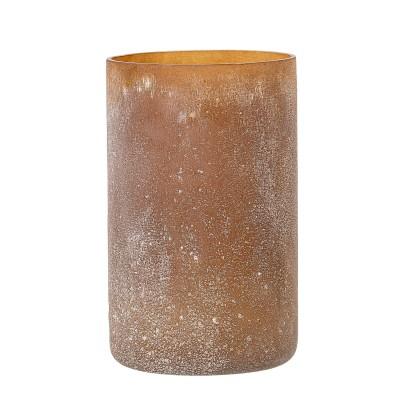 Windlicht Glas | Luja | Teelichthalter Vase Dekoration Kerzenständer