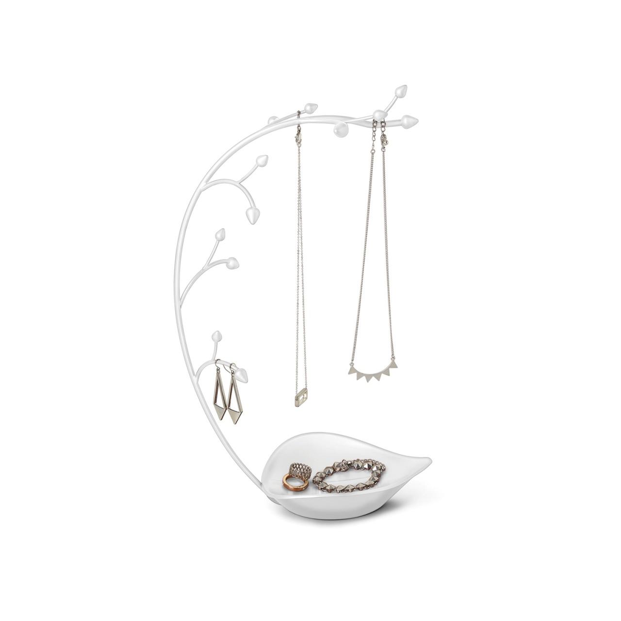 Umbra - Orchid Schmuckbaum für Ketten & Accessoires | Schmuckständer mit Ablage