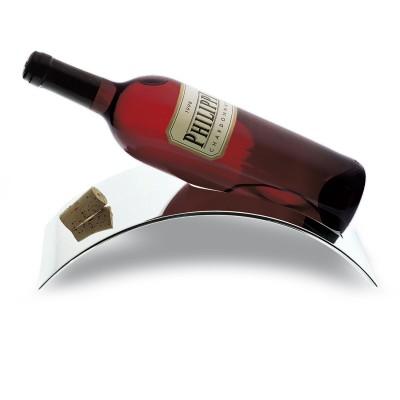 Philippi - STAND Stilsichere Flaschenablage für Weinflaschen - robuster Flaschenhalter mit Korken