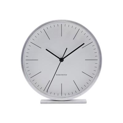 House Doctor | Uhr Tischuhr Hannah Clock – silber