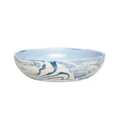 Schale mit Muster, Keramik, blau/weiß, small