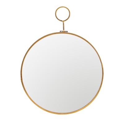 House Doctor | Spiegel Loop Mirror Wandspiegel Badezimmer – Messing