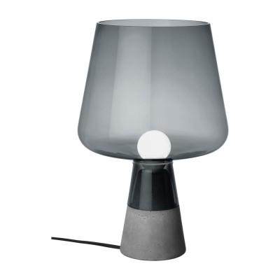 Leimu Designer Lampe Grau & Kupfer