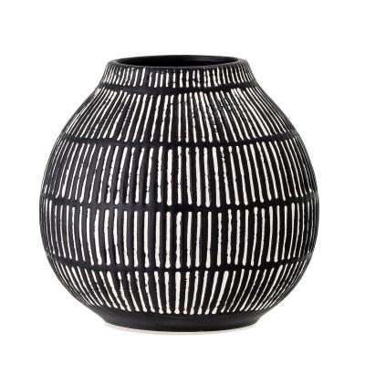 Vase | Elveda | Tischvase Dekoration Blumenvase Deko Steinzeug