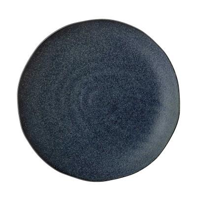 Bloomingville | Speiseteller Aura Teller Plate Servierteller – blau