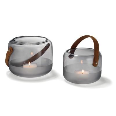 Windlicht MARLON Teelichthalter Living Design Wohnzimmer Kerzenhalter