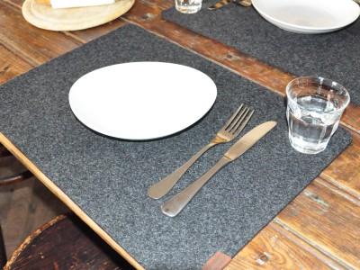 Platzset Filz Tischset Tischdekoration