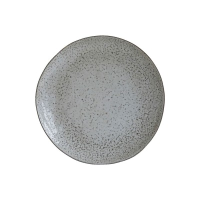 House Doctor | Speiseteller Rustic Plate Teller Platzteller Geschirrserie – grau/blau